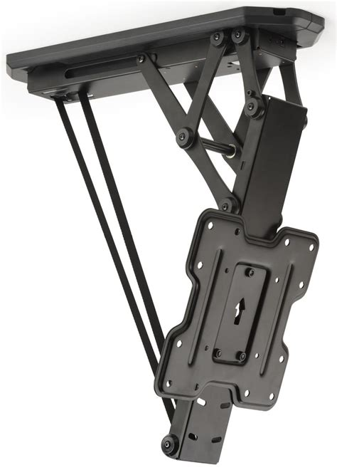 ceiling drop tv mount motorized drop tv mount remote included