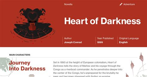 heart of darkness section 2 heart of darkness infographic course hero