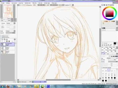 paint tool sai lineart tutorial mouse paint tool sai lineart tutorial fr