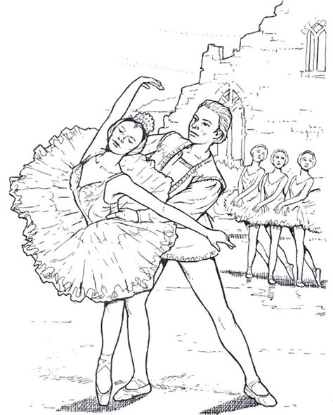 ballerina coloring pages for adults ballet dancer 11 adult coloring pages
