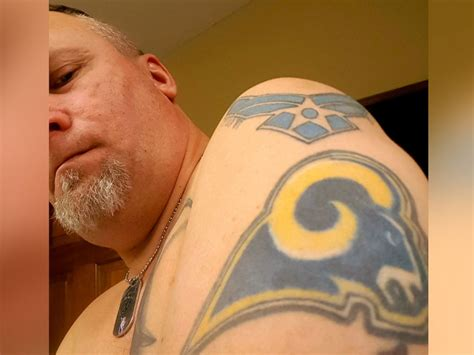 nfl tattoos nfl fans tackle whether to nix rams and chargers tattoos