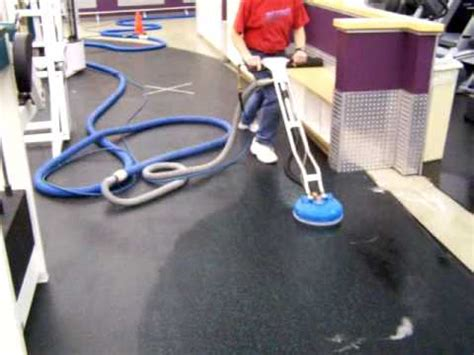 How To Clean Rubber Mats by Cleantile Rubber Workout Flooring