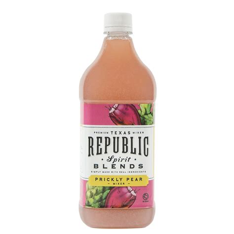 Detox Prickly Pear Drink by Republic Spirits Blend Fruit Juice Prickly Pear Spec S