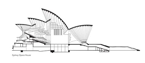 opera sections public sydney drawing the city sydney living museums