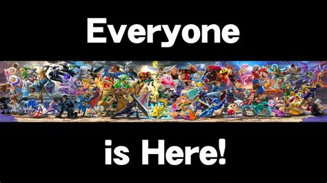 Smash Bros the reacts to smash bros ultimate