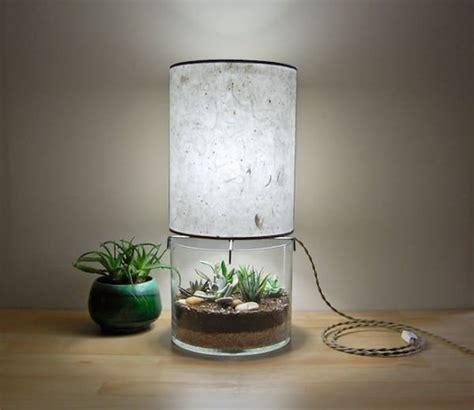 Handmade Terrarium - handmade terrarium paper table l id lights