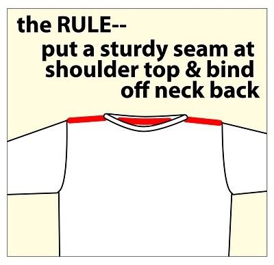 how to sew knitted shoulder seams the world s catalog of ideas