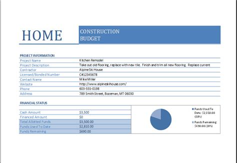 House Building Budget Spreadsheet by Construction Budget Worksheet Worksheets Releaseboard