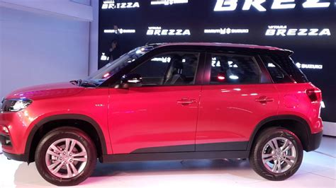 indian car maruti vitara brezza petrol price launch date mileage