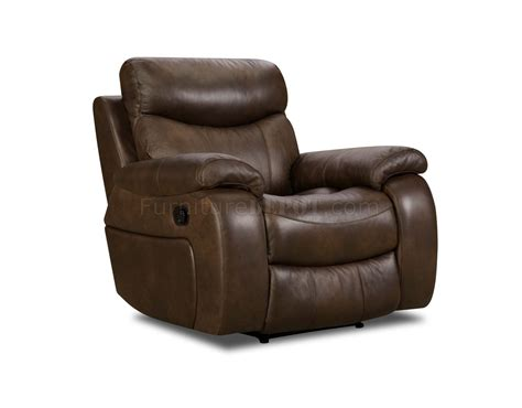 Top Grain Leather Sofa Recliner Brown Top Grain Premium Leather Modern Reclining Sofa W Options