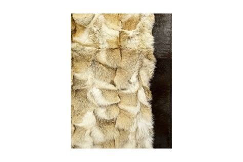 fur rug wolf