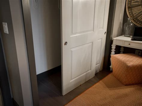 closet with sliding door for bedroom photos hgtv
