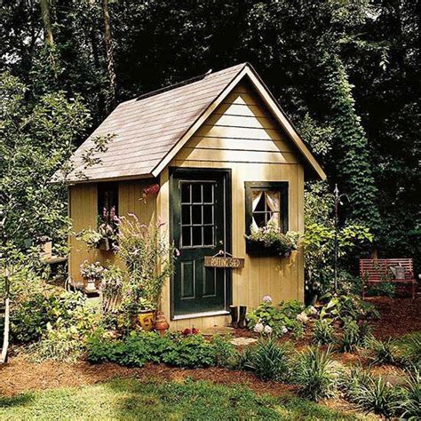 garden shed cottage 25 best ideas about cottage garden sheds on