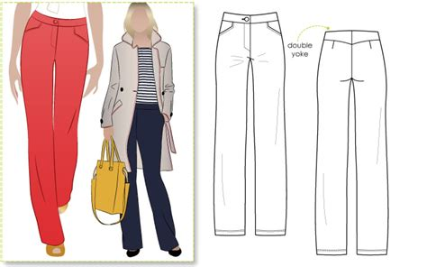 pattern review style arc elle pant happilycaffeinated style arc decisions for february