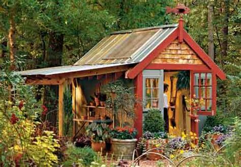 cheap garden shed garden decor