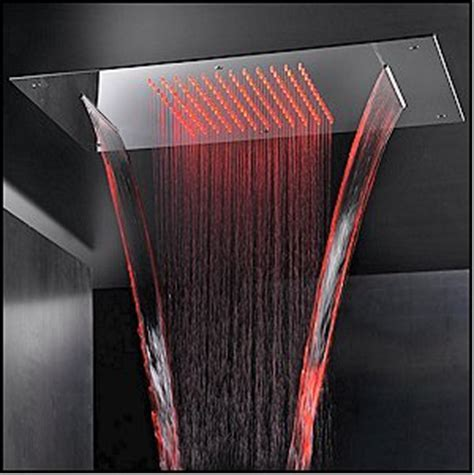 New Chromotherapy Sky Shower From Bathrooms International