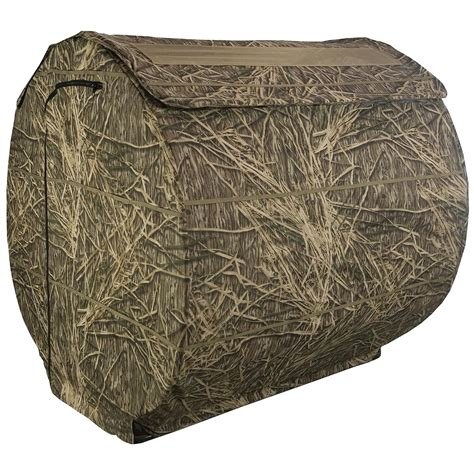 cheap layout hunting blinds beavertail 174 pro vs 2 person hay bale blind 581627
