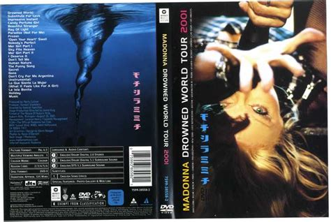 Dvd Madonna Drowned World Tour 2001 Drowned World Tour 2001 Official Uk Dvd