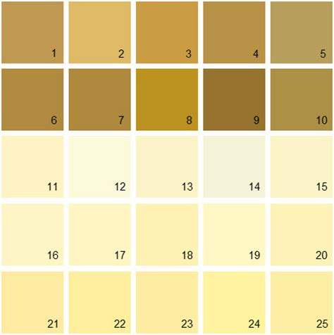 benjamin color swatches benjamin yellow design decoration