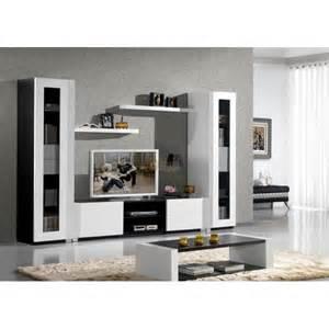 meuble tv laque blanc vitrine samson meubles elmo