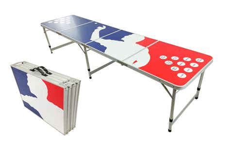 Folding Table With Handle Pong Aluminum Folding Table W Handle 8 Quot Bp 07 Easy Source Inc