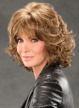 spiral perms medium colored hair middle age medium length shag haircuts wigsbuy com