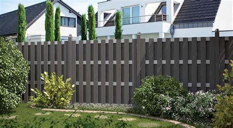 boden für terrasse zaun idee kunststoff