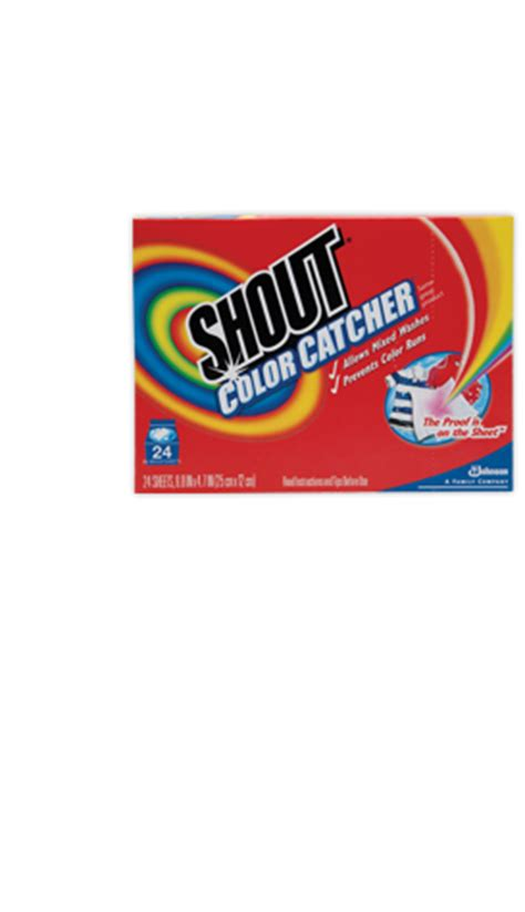 shout color catcher free sle