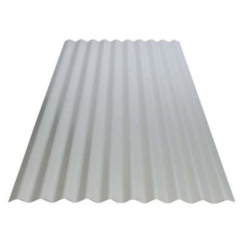 Metal Siding Home Depot by 2 1 2 In X 8 Ft Corrugated Utility Galvanized