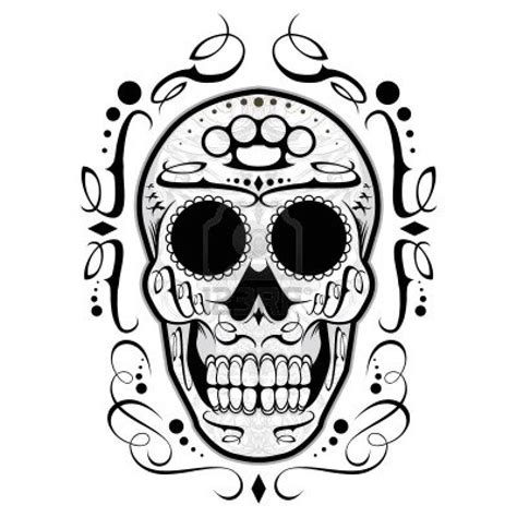 imagenes de calaveras blanco en blanco y negro calaveras imagui