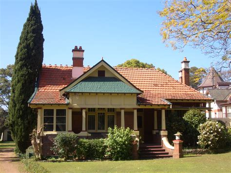 Historic Tudor House Plans federation house appian way burwood