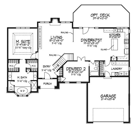 boulder creek luxury ranch home plan 072d 0091 house