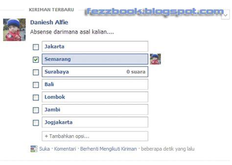 cara membuat video tutorial dengan suara cara membuat status dengan kotak pertanyaan suara di facebook