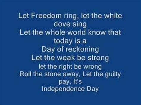 martina mcbride lyrics martina mcbride independence day instrumental version