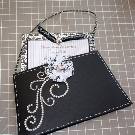 liz qualman designs imaginisce purse invitation tutorial