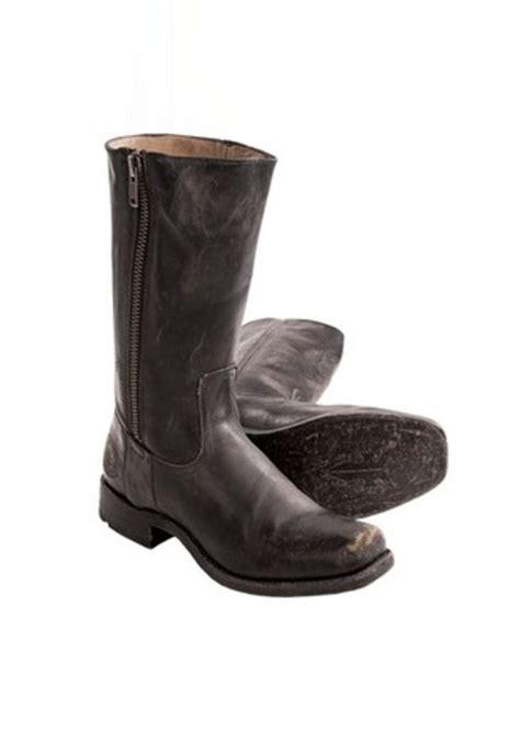 frye boots mens sale sale frye frye heath outside zip boots distressed