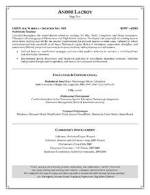 Teaching Assistant Resume Writing Example