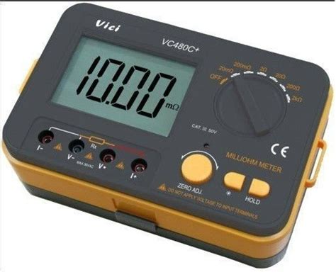 Ohm Meter Digital 0 01m遘 To 2k遘 Digital Milli Ohm Meter Low Ohm Meter