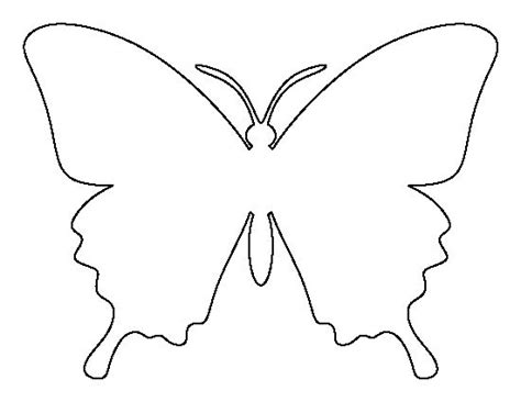 printable butterfly template 25 best ideas about butterfly template on