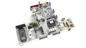plan gratuit 4 chambres faire plan de