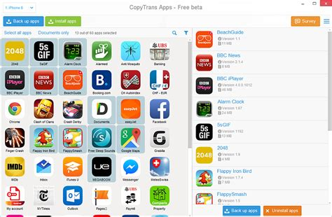 app for pc how to back up and restore ios apps on iphone or