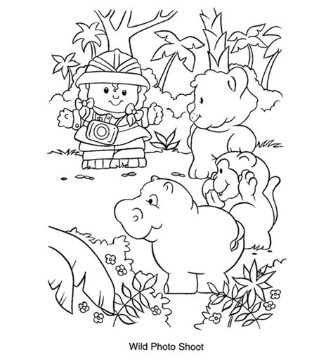 fisher price shape coloring pages coloring pages