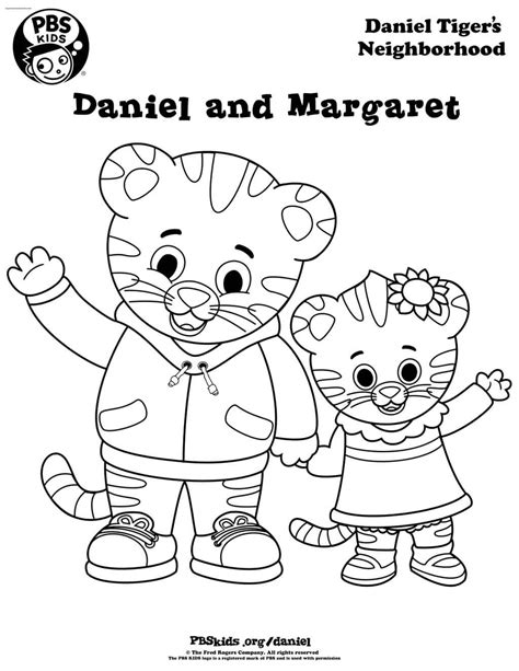 daniel tiger coloring daniel tiger coloring page 6 coloring pages for