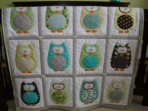 Owl Baby Quilt Pattern by Derpy Owl Quilt Quilt Patterns