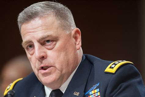gen mark milley milley warns of disaster if congress increases army troop