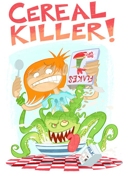 Cereal Killer stevemaystuff cereal killer
