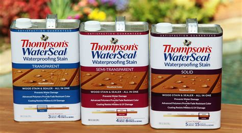 thompson water seal stain colors thompson s waterseal waterproofing stain in woodland cedar