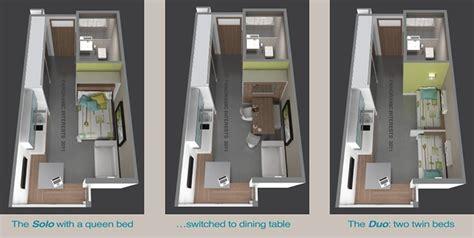 Microapartments by Studio Apartment Floor Plans