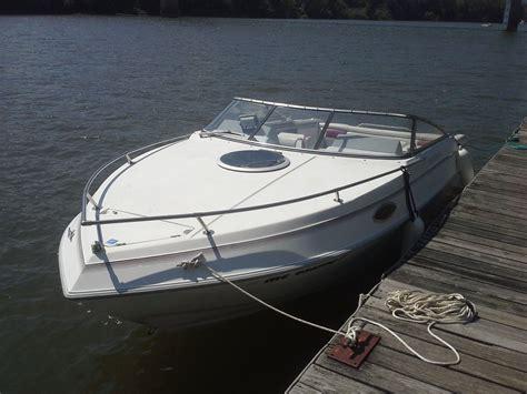 four winns boat canvas four winns 205 sundowner cuddy 1991 for sale for 6 000