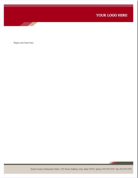 letterhead templates for pages health stylish letterhead template for pages free iwork